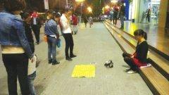 兰州:假教师当街乞讨 装孕妇骗取爱心