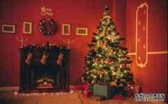 蓝天豚硅藻泥圣诞节主题装饰空间,让你家儿童房成童话世界!
