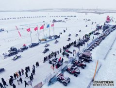 2018中国呼伦贝尔(海拉尔)冬季英雄会盛大开幕